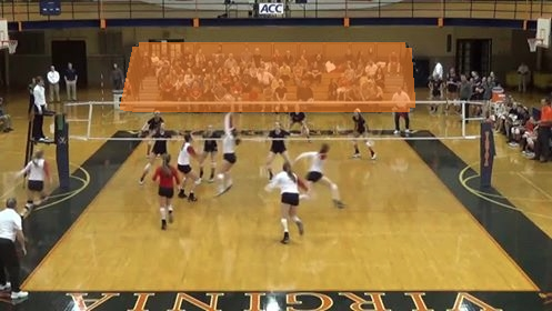 HooCrew Section - Volleyball